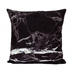 หมอนอิง Pillow room decor (Black Marble)