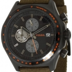 Fossil Men's CH2781 Green Nylon