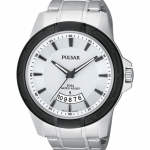 Pulsar Men's PS9275 On The Go Analog Display Japanese Quartz Silver Watch