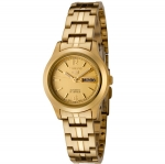 Seiko Women's SYME02K1 Automatic Gold Tone Watch