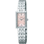 Pulsar Women's PEGE75 Crystal Jewelry Watch