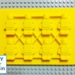 Lego Minifigure Mold แม่พิมพ์ Minifigure-Yellow