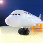เครื่องบินใส่ถ่านมีเสียงมีไฟวิ่งได้