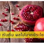รู้จักกับ ทับทิม ผลไม้มากประโยชน์ (2)