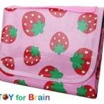 ผ้าปูพลาสติกแบบนิ่ม Leisure Sheet- Strawberry180x 160cm