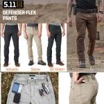 5.11 Defender Flex Pant ( Slim & Straight Fit )
