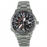 CITIZEN PROMASTER Nighthawk Eco-Drive Men's Watch รุ่น BJ7010-59E