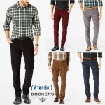 DOCKERS ALPHA STRETCH CORD PANT ( ผ้าลูกฟูก )