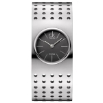 Calvin Klein Women's K8323107 Silver Tone Grid Watch