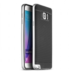 IPAKY Case for Samsung Galaxy Note 5 (Silver)