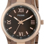 Pulsar Women's PH8066 Analog Display Japanese Quartz Brown Watch