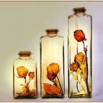 การทำ ดอกไม้สดอบแห้ง