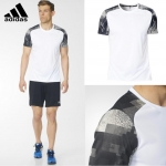 Adidas Men's Response Graphic Running Tee