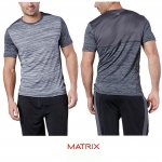 MATRIX Short-Sleeve Colour Block T-Shirt