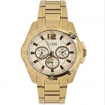 Guess Ladies Gold Sport Watch W0232L2