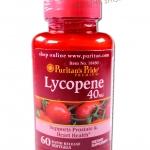 Puritan Pride Lycopene 40 mg *ขนาด 60 ซอฟเจล 950 บาท ส่งฟรี ลทบ.