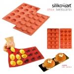 Silikomart พิมพ์ซิลิโคน SF014 (15 ช่อง / 5 cm)