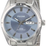 Pulsar Men's PXN189 Functional Blue Dial Watch