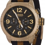 Fossil DE5006 Men's Black Strap