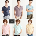 Abercrombie & Fitch Jersy Pocket polo