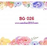 BG026 กระดาษแนพกิ้น 21x30ซม. ลายพื้นหลัง