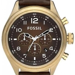 FOSSIL Men's Quartz Watch Vintage Bronze DE5002
