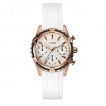 GUESS W0562L1 Catalina Ladies Multi Function Stainless Steel Case & Silicone/Rubber Strap