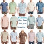 Columbia Men's Silver Ridge plaid Shirt ( Short & Long Sleeve )