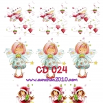 CD024 กระดาษแนพกิ้น 21x30ซม. ลายเด็ก