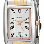 Pulsar Women's PH7333 Tri-Tone Watch