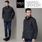 Marks & Spencer Quilted Tailored Fit Jacket