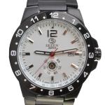นาฬิกาข้อมือสุภาพบุรุษ Sezen Tachymeter รุ่น 1419 W/B