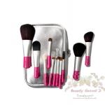 แปรงแต่งหน้า ชุดเซ็ท แปรงแต่งหน้า คุณภาพดี ขนอ่อนนุ่ม CerroQreen New Minis Rose Makeup brush sets Set /11 ชิ้น - สีชมพู