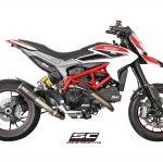 SC Project for Ducati Hypermotard 821 CRT
