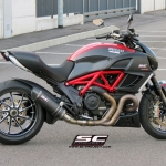 SC Project Oval Carbon for Ducati Diavel