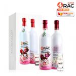Super4Rac น้ำผลไม้สกัด ตราซุปเปอร์ โฟร์แรค ขวดใหญ่ 750 ML.