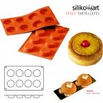 Silikomart พิมพ์ซิลิโคน SF015 (8ช่อง)