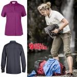 Fjallaven Abisko Vent Shirt ( แขนสั้น - แขนยาว) - Women
