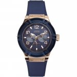 Guess Ladies'Watch Analogue Quartz W0571L1 Silicone