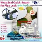 Wrap Seal Repair Kit for Pipe Leak ชุดวัสดุซ่อมท่อรั่วซึม ท่อแตก ท่อร้าว นำเข้าจากสิงคโปร์ ใช้ซ่อมท่อทุกชนิด ใช้งานเองได้ง่ายมีหลายขนาด