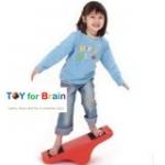 Balance Board - Seesaw กระดานหกมหัศจรรย์เสริม sensory การทรงตัวและเคลื่อนไหว - Red