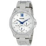 Pulsar Women's PP6099 Analog Display Japanese Quartz Silver Watch