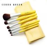 แปรงแต่งหน้า ชุดแปรงแต่งหน้า CerroQreen new cute girl series makeup brush Yellow