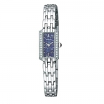 Pulsar Women's PEX541 Crystal Lapis Dial Watch