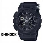 นาฬิกา คาสิโอ้ Casio G-Shock Limited Black out Basib Nylon Band รุ่น GA-100BBN-1A