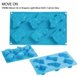 FR086 Move On 6 Shapes Light Blue 638 C Carton Box