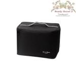 Cerro Qreen Professional Classic Makeup Box (Large Capacity) กระเป๋าใส่เครื่อสำอางค์แบบพกพา - สีดำ