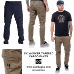 DC WORKER TAPERED CARGO PANTS