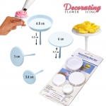 TC2008 flower nail icing decorating set