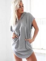 ZANZEA Off Shoulder Summer Women Loose Flounce Sleeve MIni Women is Fashion Dresses(Intl)